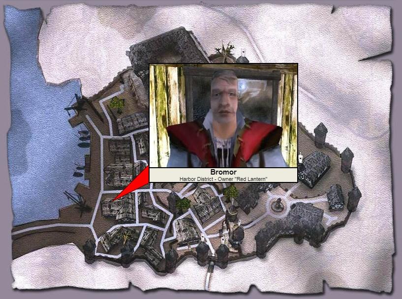 Бромор в Готике 2: где находится, квесты, характеристики, что можно украсть, обучение